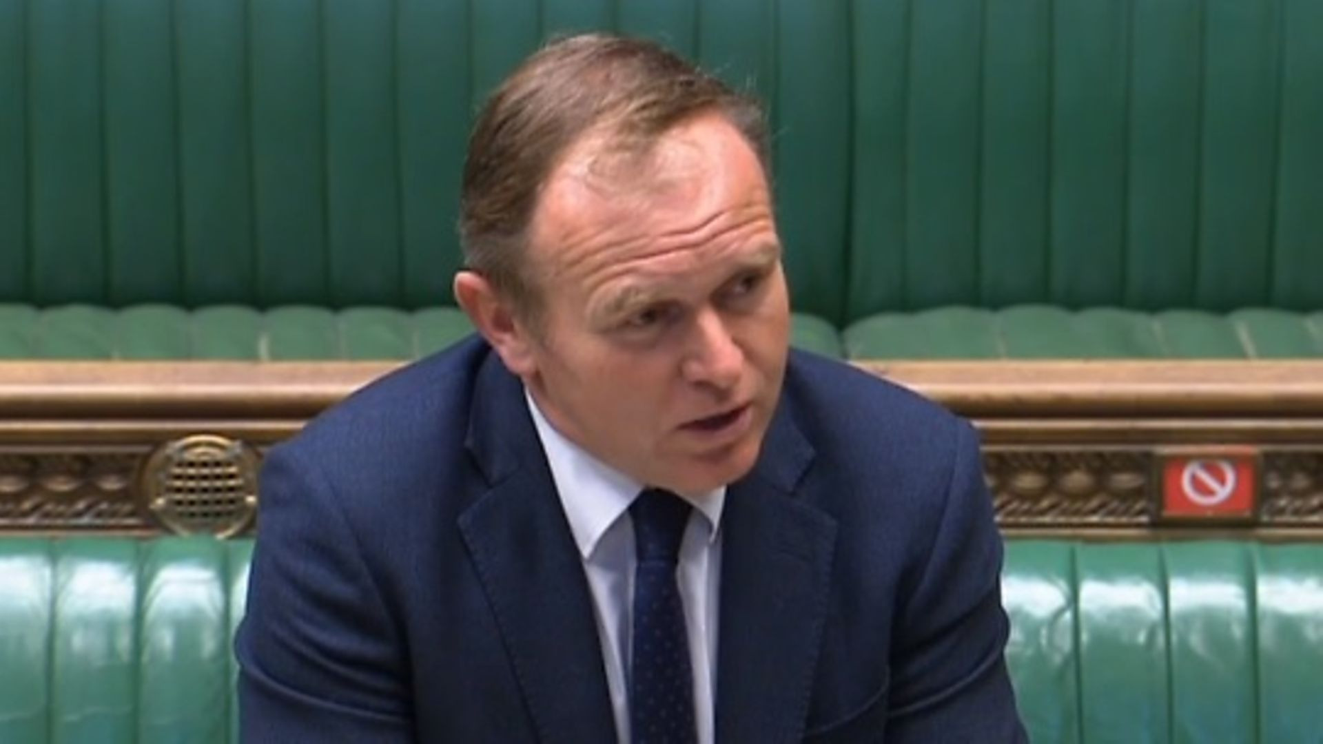 Environment secretary George Eustice - Credit: Parliament Live