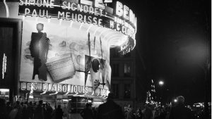 The cinema Le Berlitz with Moviedrome favourite Les Diaboliques playing, Paris, 1955 - Credit: Photo by Gaston Paris/Roger Viollet via Getty Images