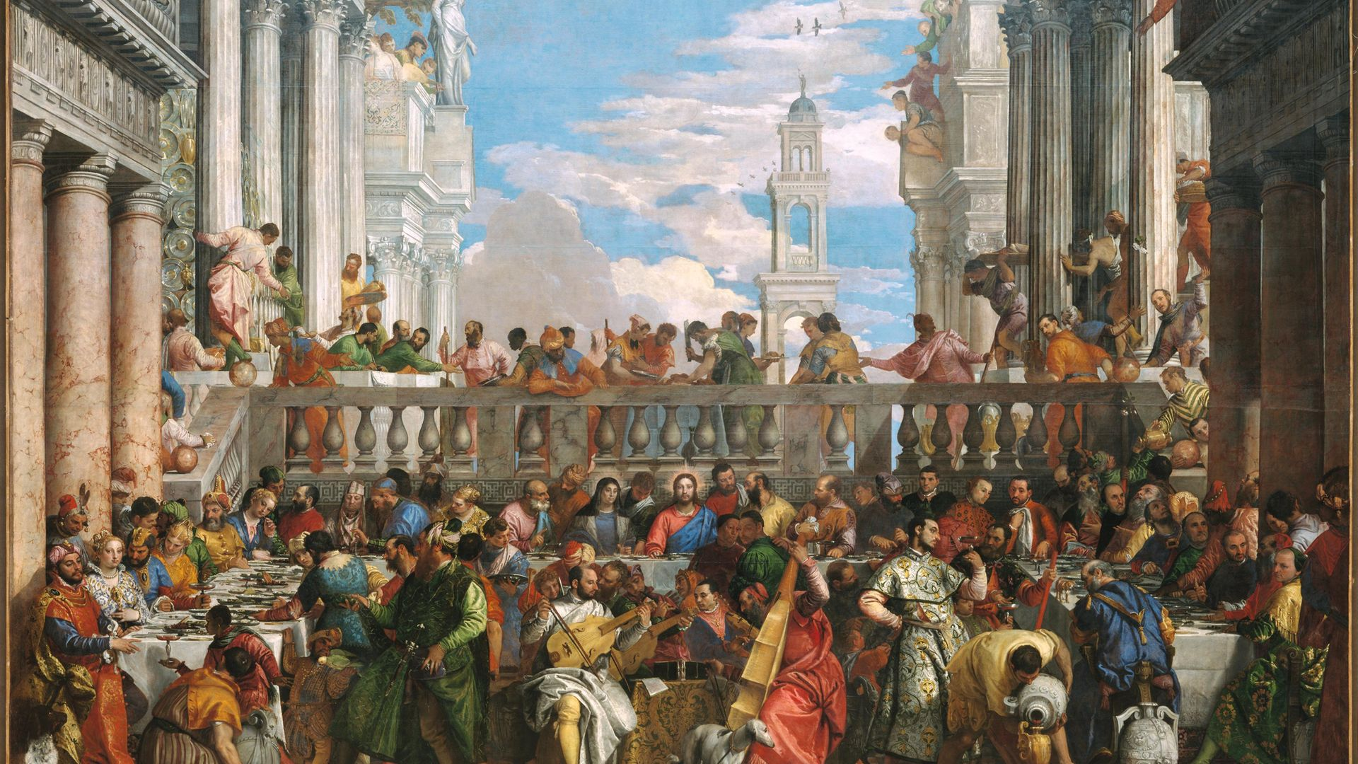The Wedding Feat at Cana, by Paolo Veronese, 1563 - Credit: DeAgostini/Diomedia