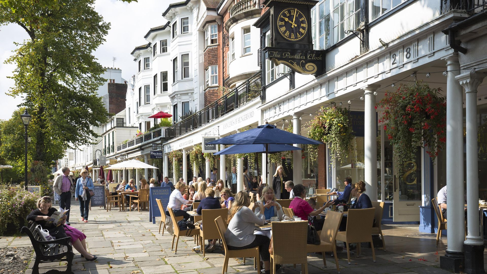 The Pantiles shopping area of Tunbridge Wells - Credit: Photo by Tim Graham/Getty Images