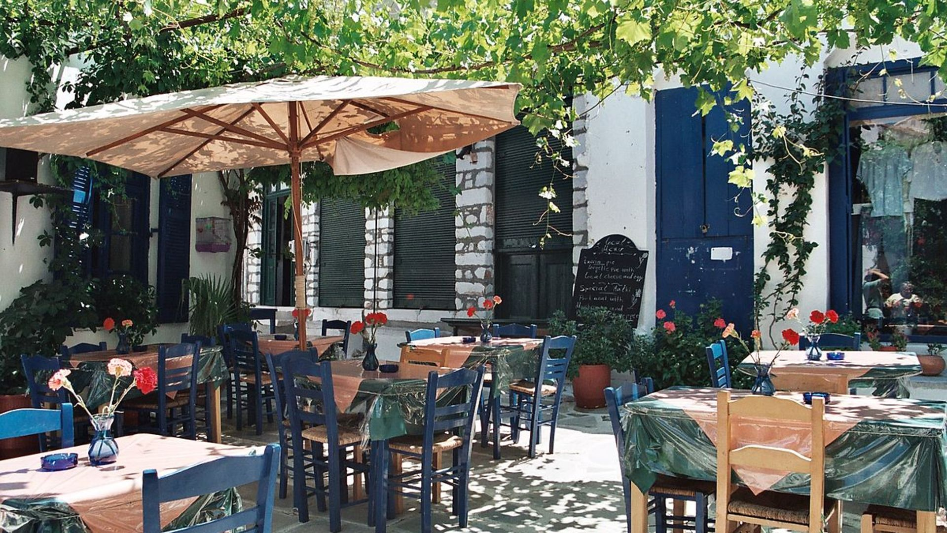 Mind you language: How would you thank the staff of a Greek taverna? - Credit: Wikimedia