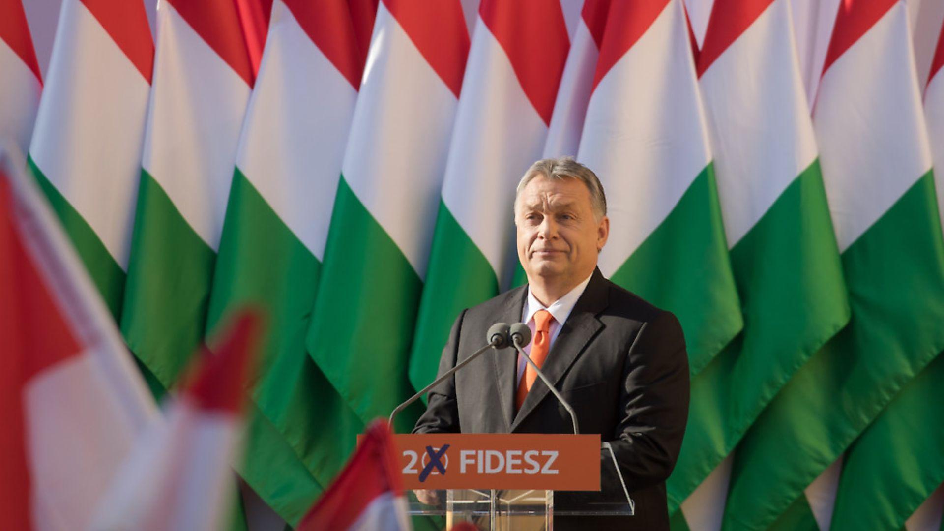 Hungarian prime minister Viktor Orban (question seven) Pic: PA / Xinhua / Attila Volgyi - Credit: Xinhua News Agency/PA Images