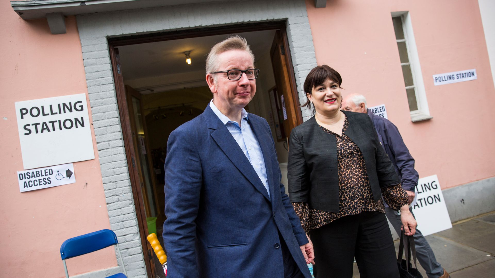 Michael Gove and  Sarah Vine vote in the Brexit referendum on June 23, 2016 - Credit: Photo by Jack Taylor/Getty Images