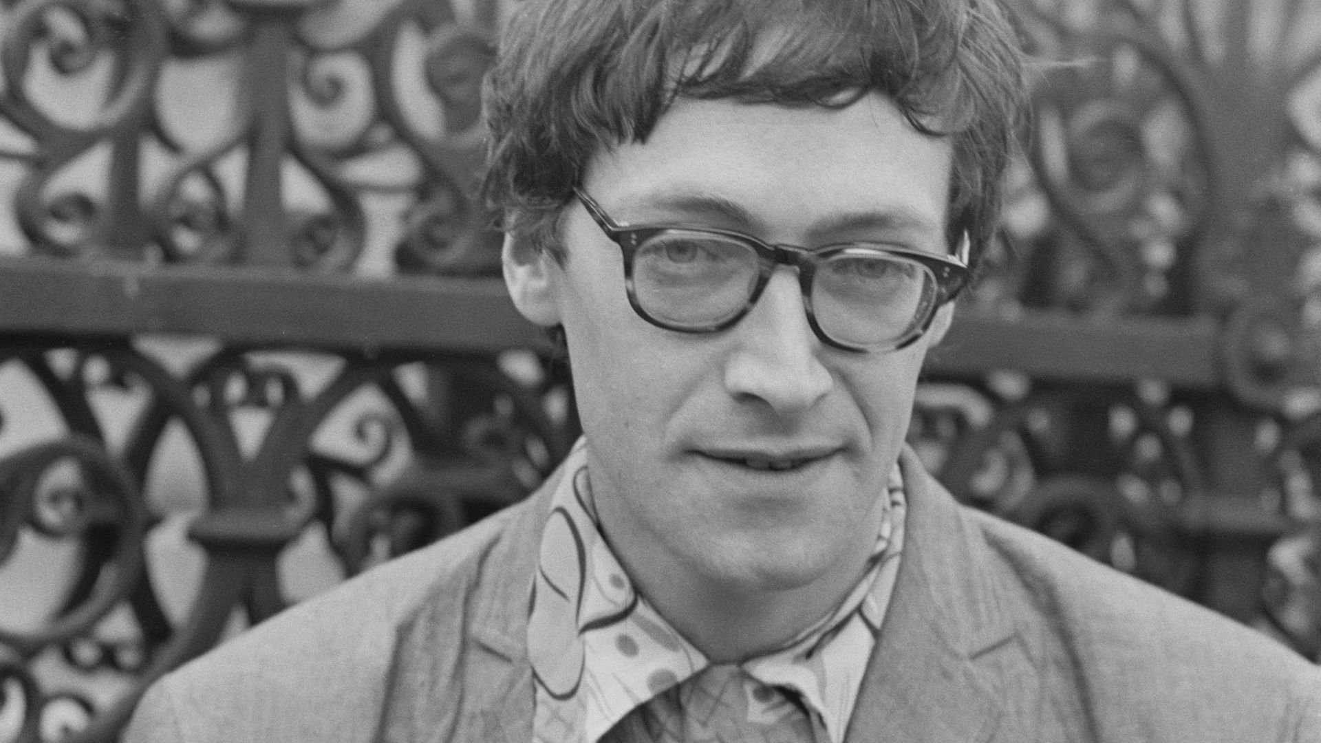 Michael Horovitz at the Albert Memorial in South Kensington, June 11, 1965 - Credit: Photo by M. Stroud/Daily Express/Hulton Archive/Getty Images
