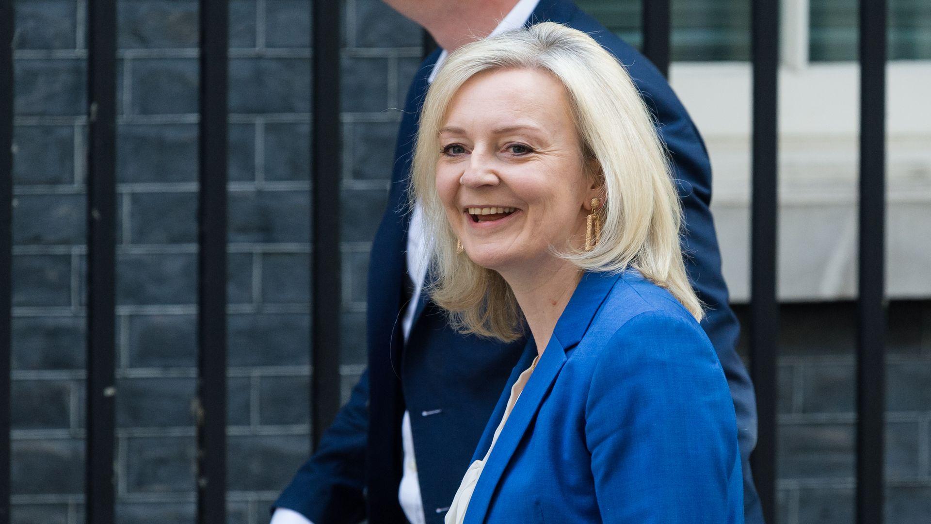 Liz Truss in Downing Street - Credit: Photo credit should read Wiktor Szymanowicz/Barcroft Media via Getty Images
