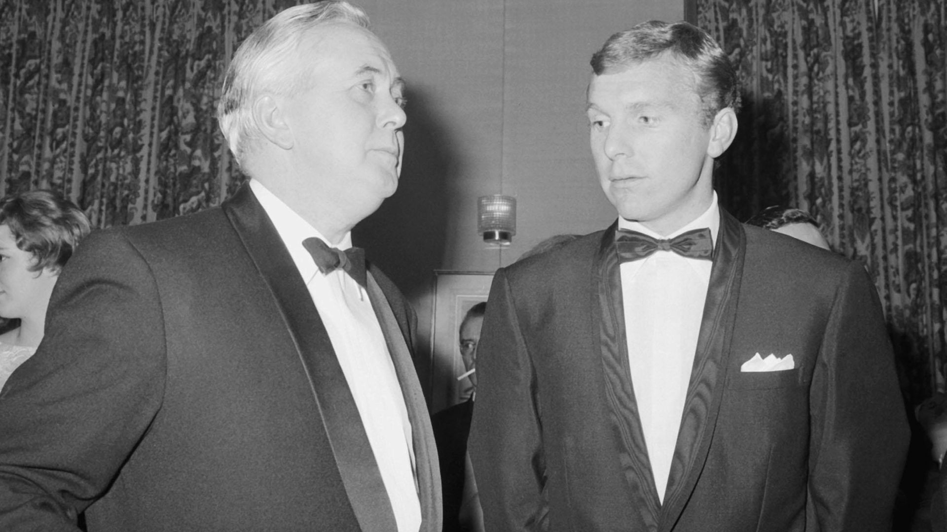 Harold Wilson, talking to Bobby Moore, the England captain, shortly after the national side had beaten Spain 2-0 and a few months before he lifted the World Cup - Credit: PA