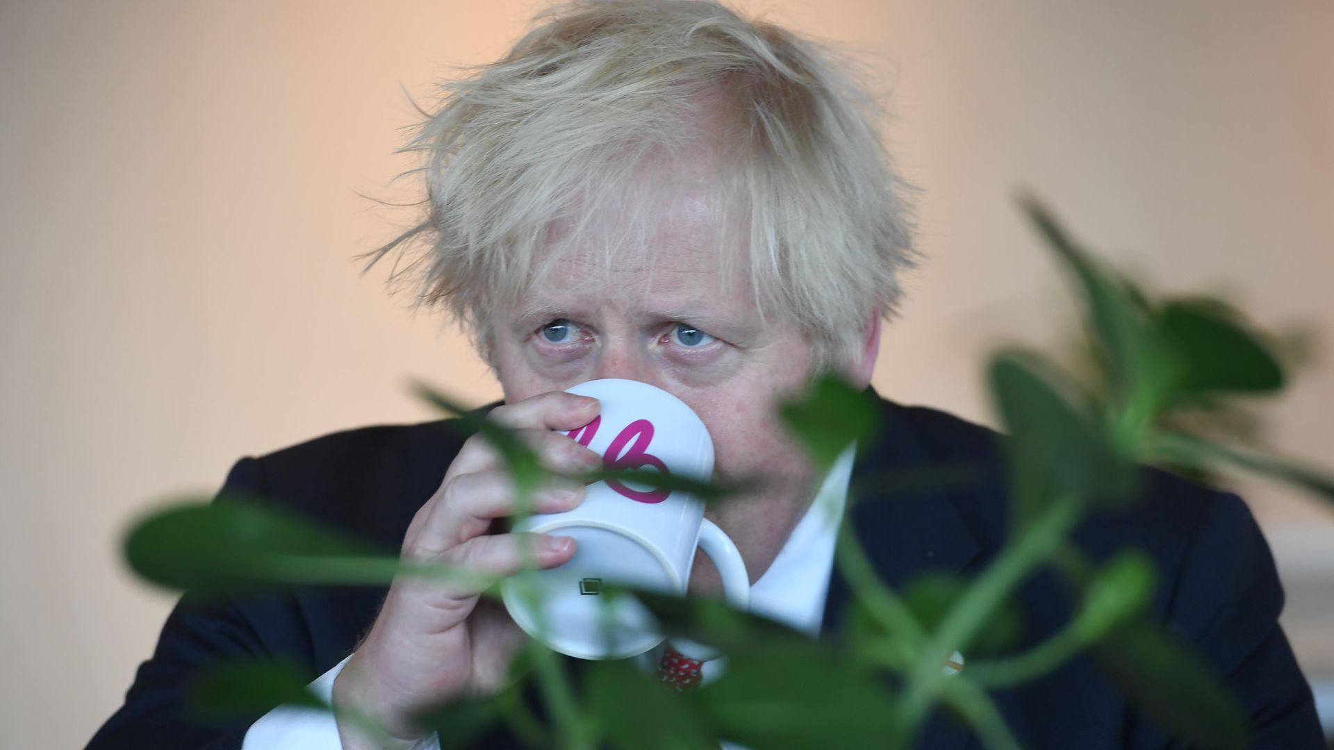 Prime Minister Boris Johnson during a visit to the offices of energy company Bulb in central London - Credit: PA