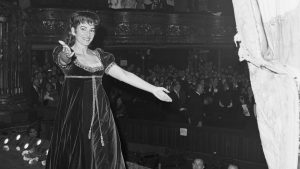 The incomparable Maria Callas, walking offstage after a performance in 1965. Photo: Bettman Archive/Getty Images.