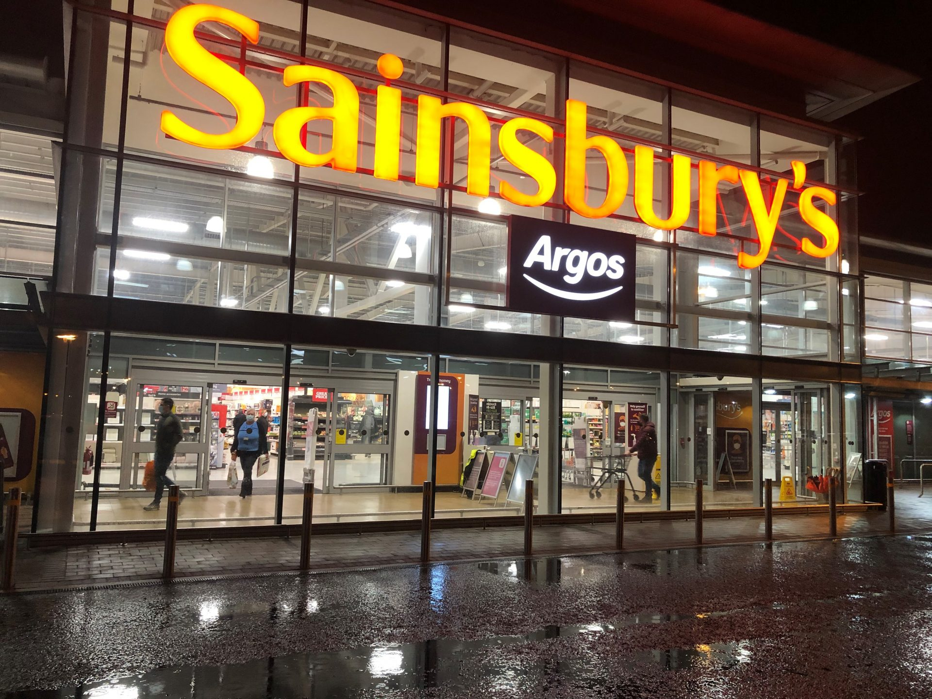 Sainsbury's staff have reportedly been told to deny Brexit has impacted its stock. Photograph: PA.