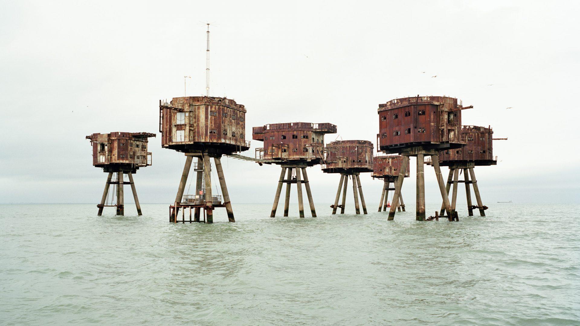 Redsands Sea Forts Restoration, Thames Estuary, 2015 by Chloe Dewe Mathews. All photos: Chloe Dewe Mathews.