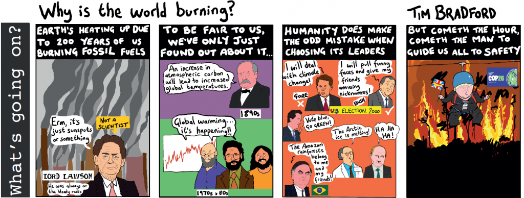 Why is the world burning?