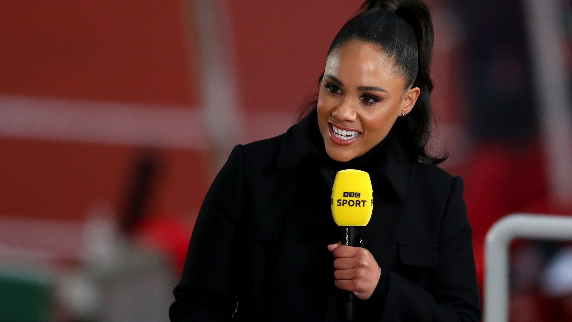 BBC sports pundit Alex Scott, whose accent has been criticised - Credit: Getty Images