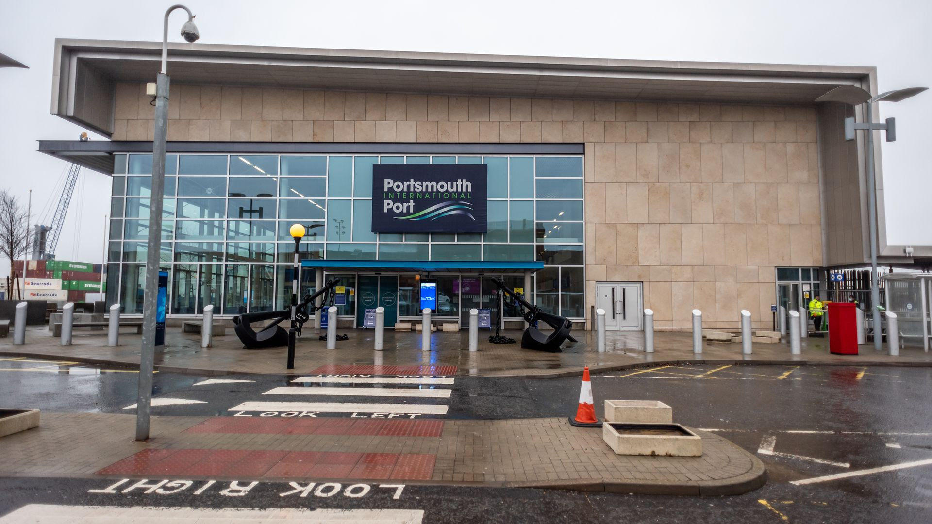 Portsmouth International Port, which is struggling to get ready for new checks on EU plant and animal imports