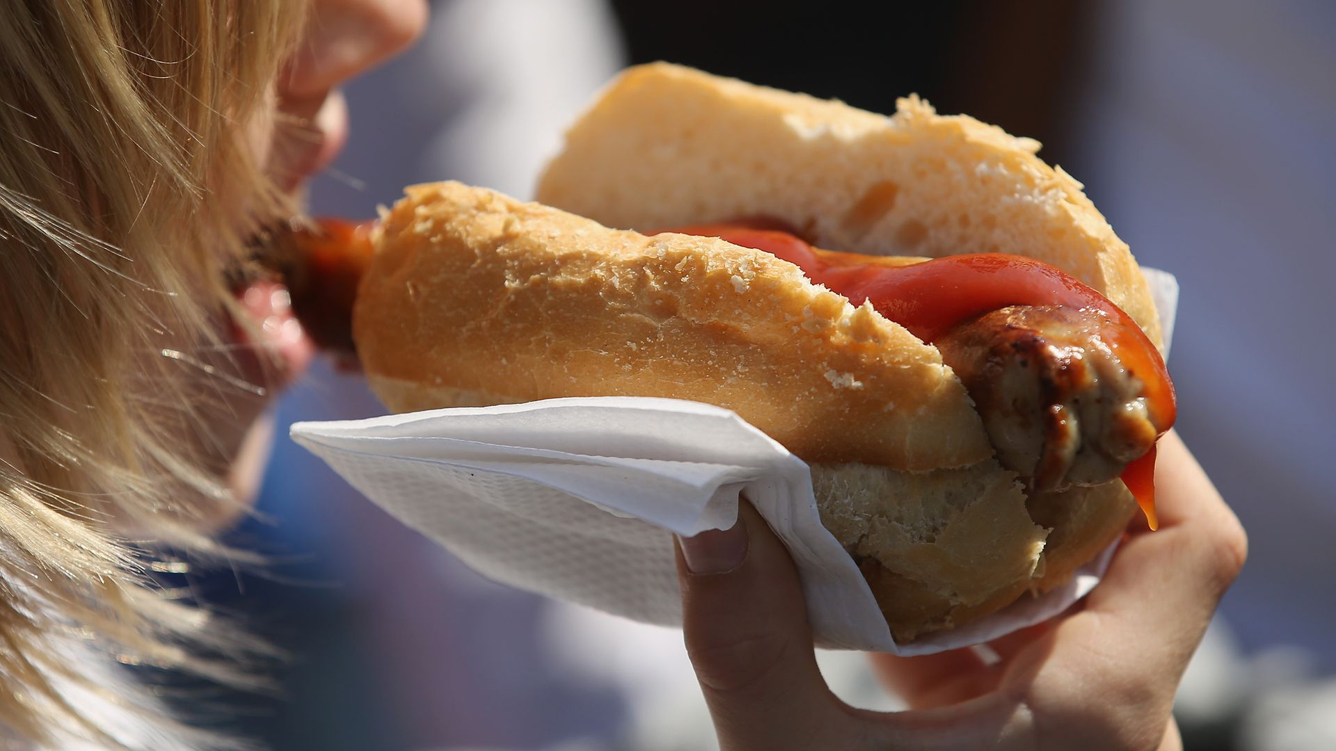 Bratwursts are being offered as an incentive to make up the Covid vaccine