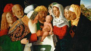 Bartolomeo Veneto's The circumcision of Christ, circa 1506 - Credit: Photo: Fine Art Images/Heritage Images via Getty Images