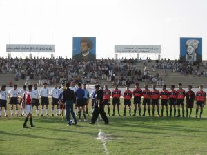 The 'England v Scotland' match in Kabul. Photo: Brooks Altshuler.