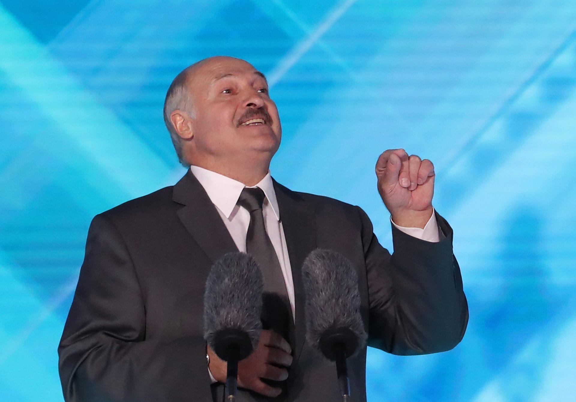 Belarus' president Alexander Lukashenko – or should that be Lukashenka? Credit: Natalia Fedosenko/TASS/Getty