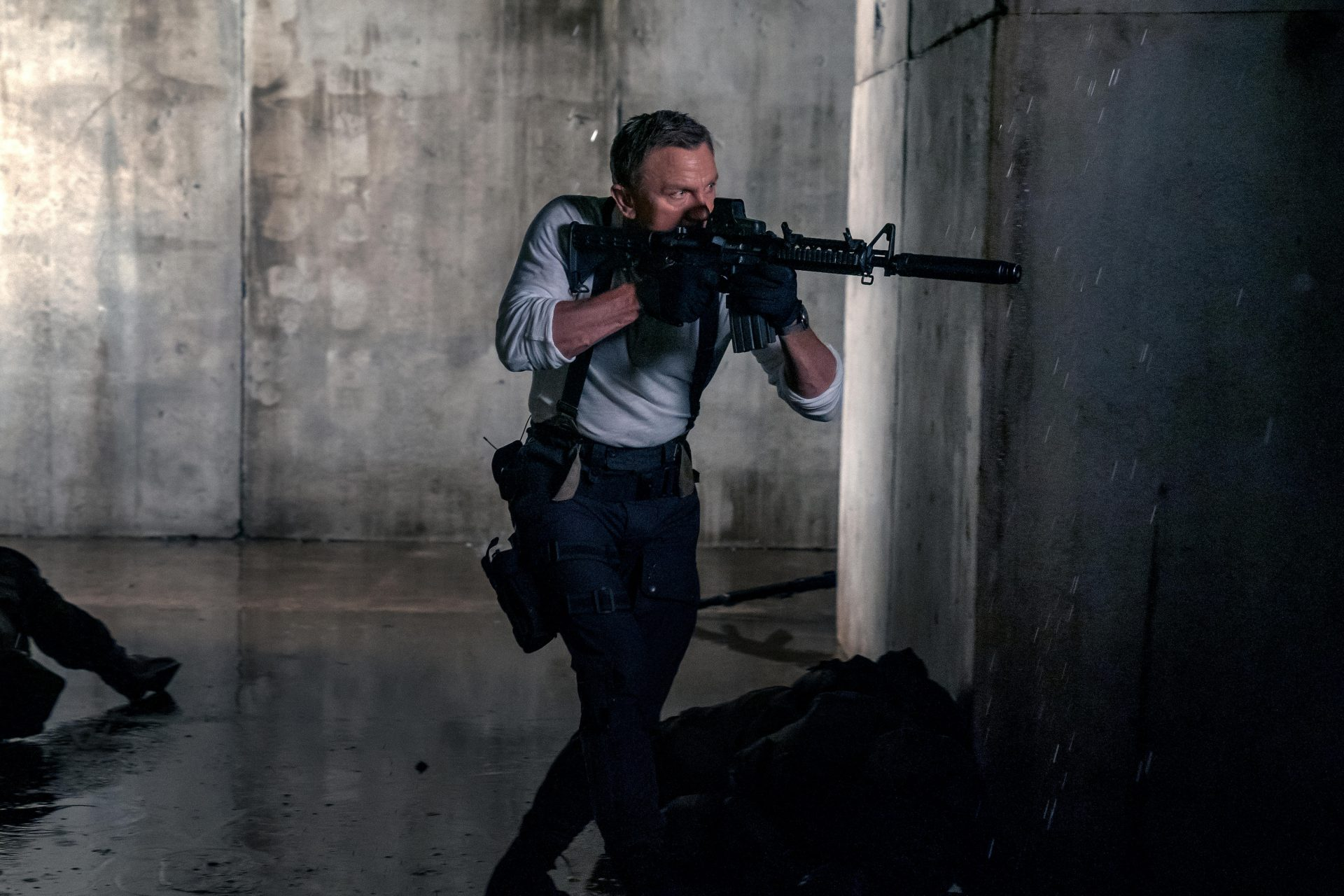 Craig in a scene from new Bond film No Time To Die. Credit: Nicola Dove, Danjaq, LLC and MGM