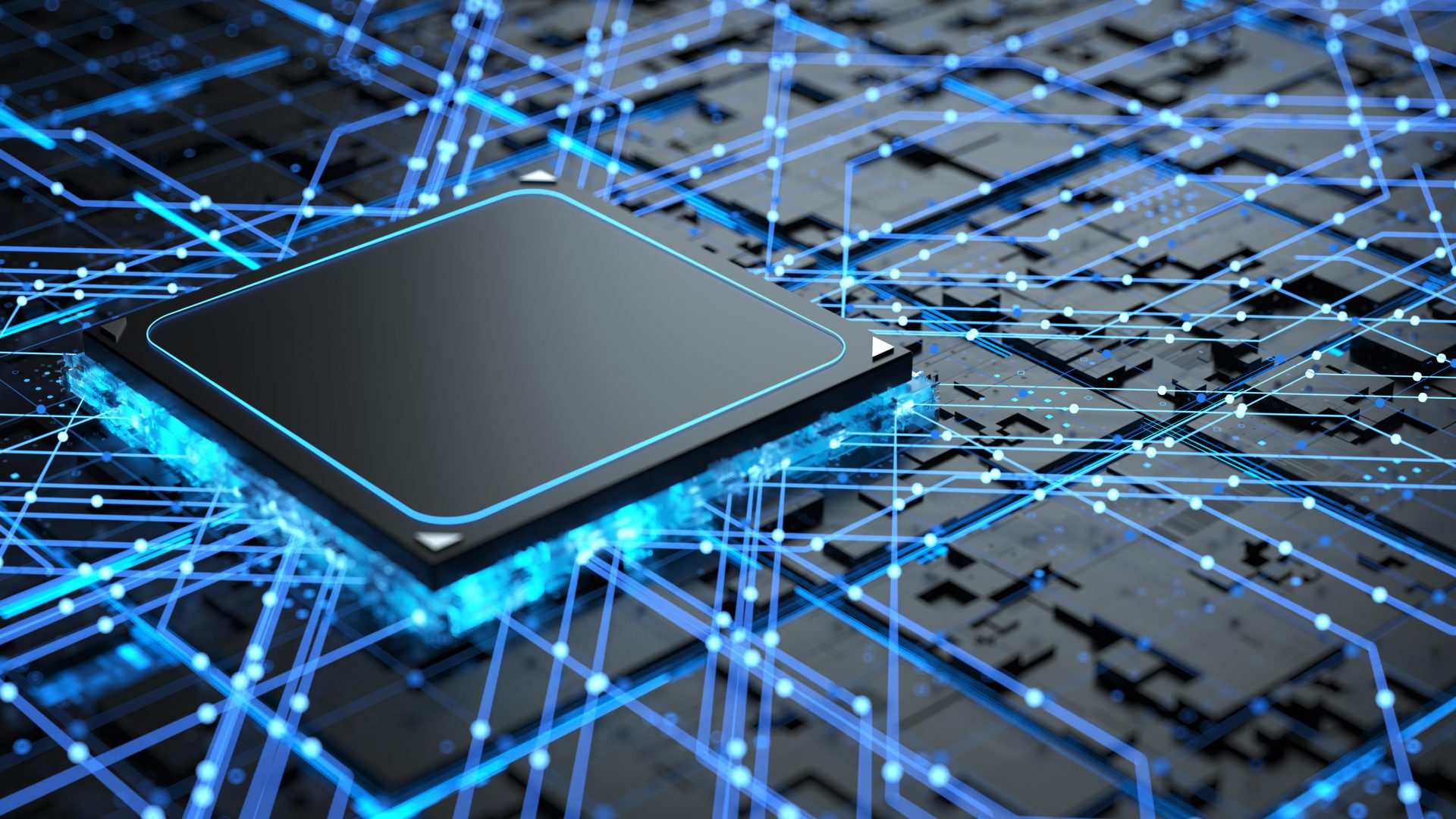 An image of a computer chip. Arm has become one of the world's most important companies in the sector. Photo: Getty Images