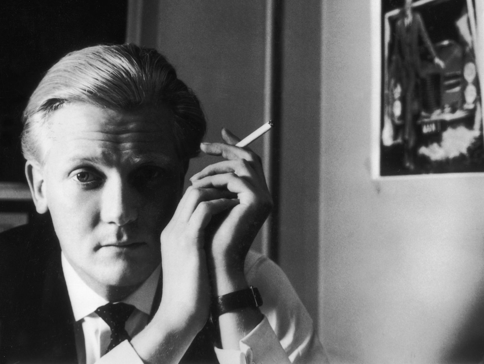 Michael Heseltine pictured in 1956, the year he applied for the Conservative Party parliamentary candidates' list and ten years before he was first elected as an MP. Photo: John Cole/Getty Images.
