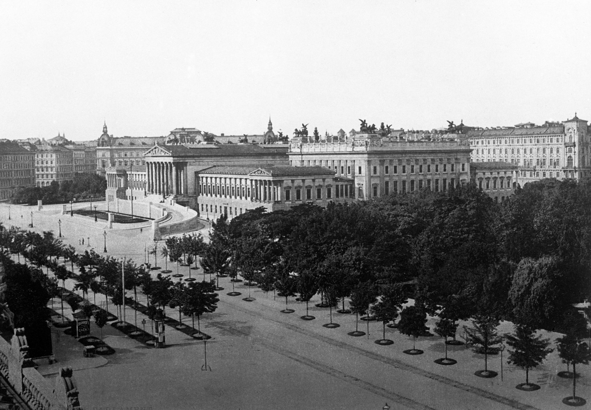 Parliament House in Vienna. Credit:PA/PA Archive/PA Images