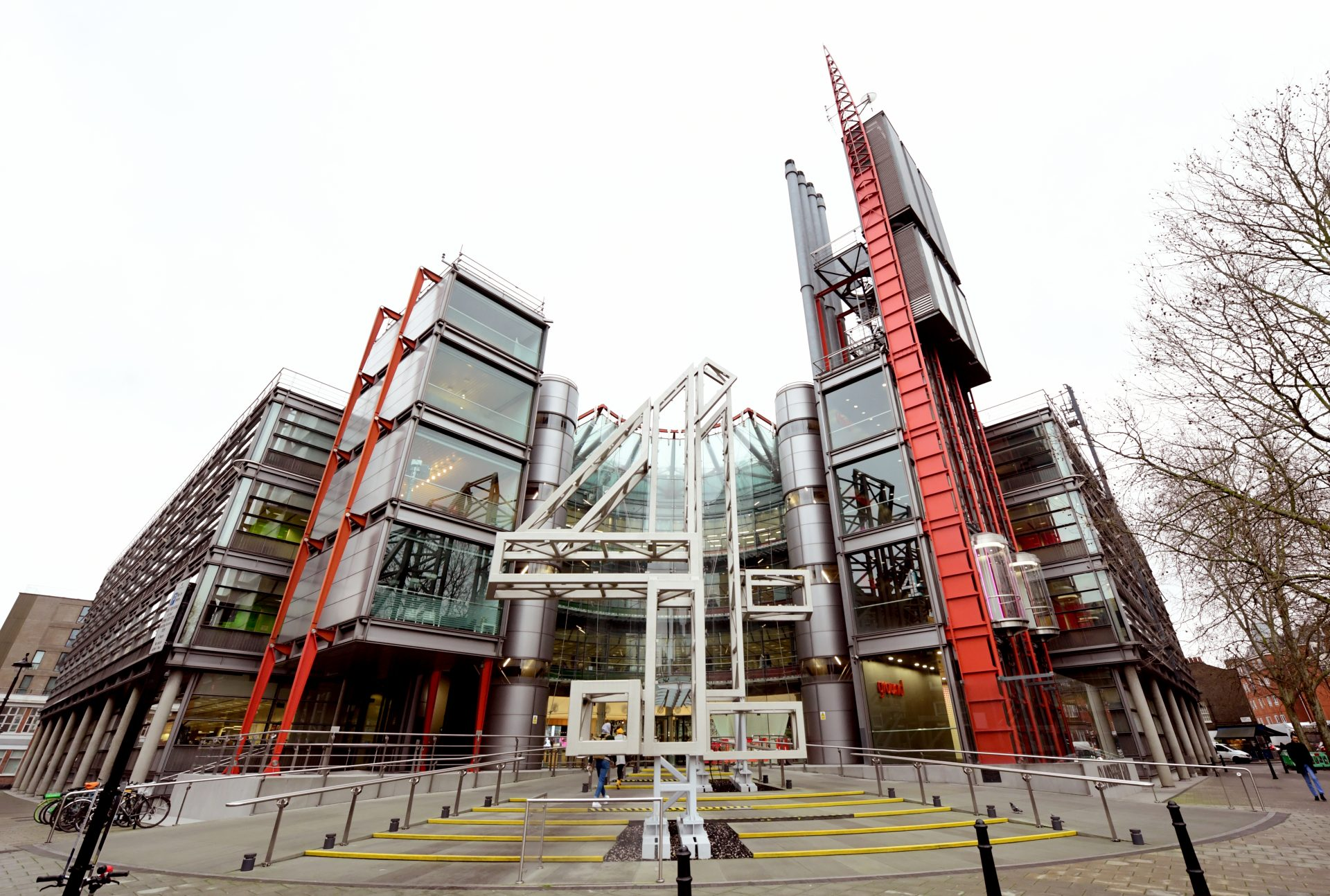 The Channel 4 building in London. Photograph: Ian West/PA Archive/PA Images.