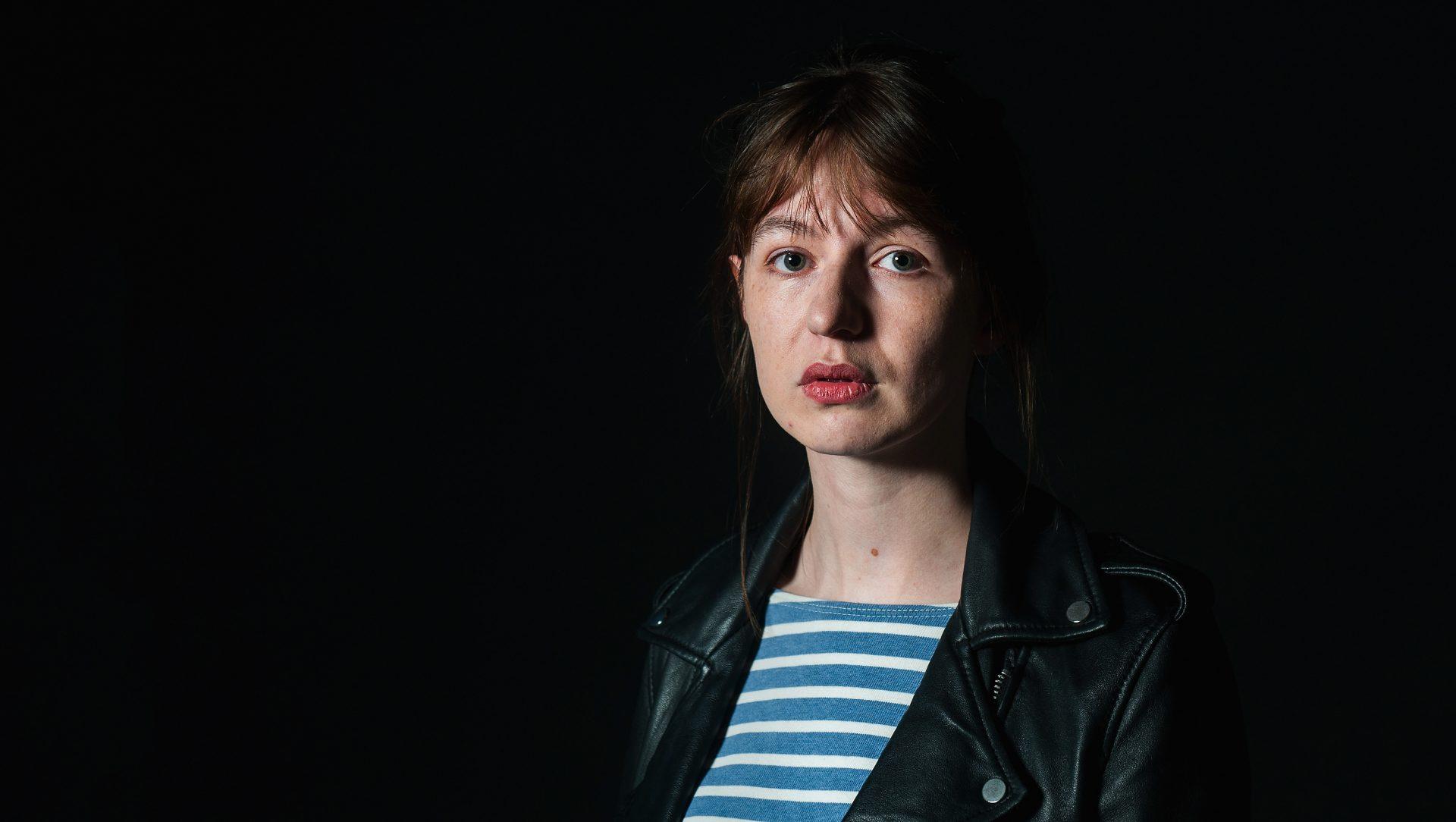 Sally Rooney, at a photocall for the 2017 Edinburgh International Book Festival. Credit: 2017 Simone Padovani/ Awakening/Getty