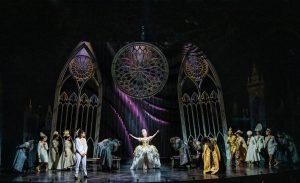Carrie Hope Fletcher in a scene from Andrew Lloyd Webber's bland Cinderella. Credit: Tristram Kenton