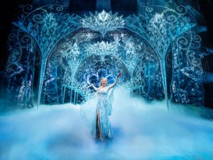 Samantha Barks as Elsa in Frozen. Credit: Johan Persson