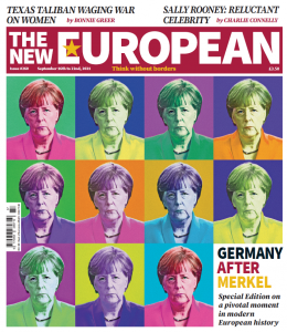 The New European print edition cover, 16 - 22 September