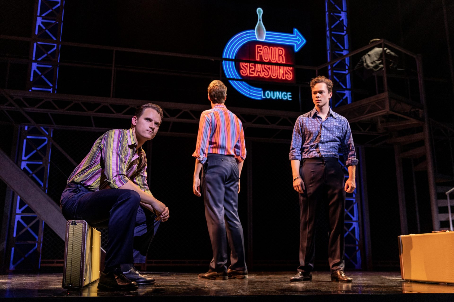 Karl James Wilson, Adam Bailey, Ben Joyce in Jersey Boys