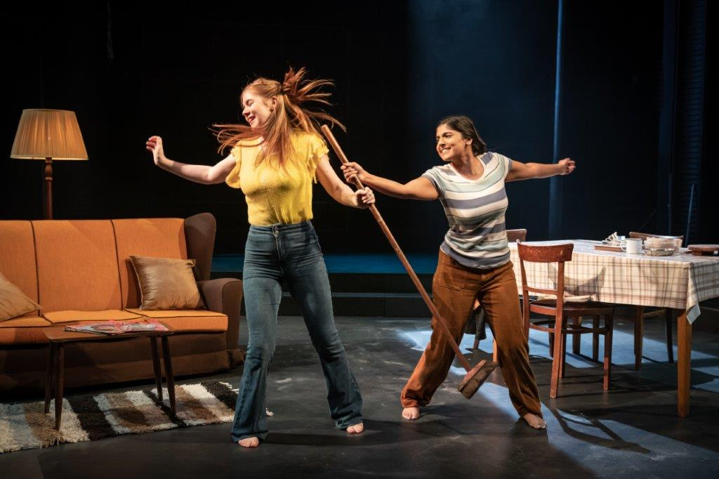 Anoushka Chadha and Claire Keenan in NW Trilogy. Credit: Marc Brenner