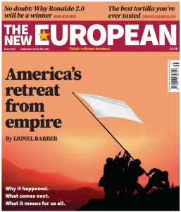 The New European print edition cover, September 2 - 9, 2021