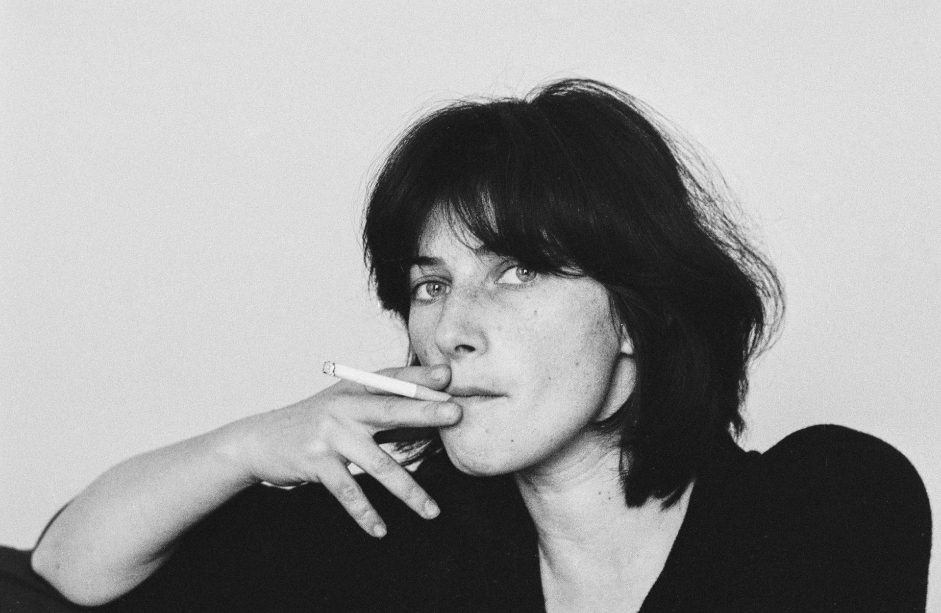 Chantal Akerman at home in Paris in 1979. Credit: Gamma-Rapho via Getty